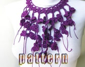 PDF Tutorial Pattern - Cotton Crochet Necklace-4