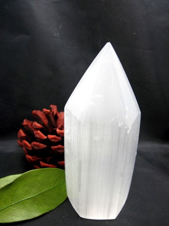 Selenite Crystal Point