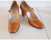 Vintage Saks Fifth Ave Mary Janes