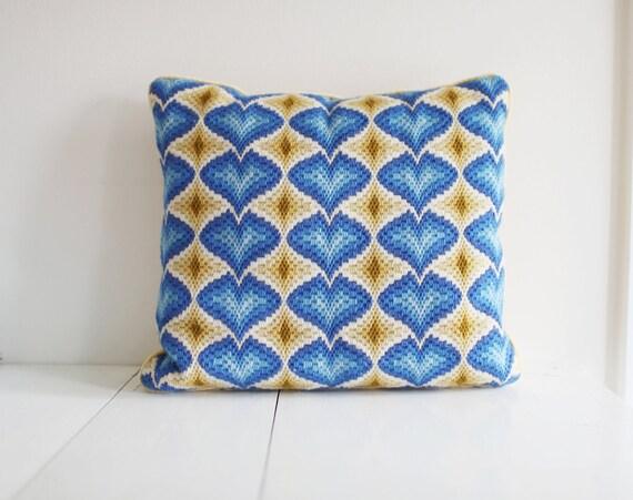 Vintage Bargello Pillow