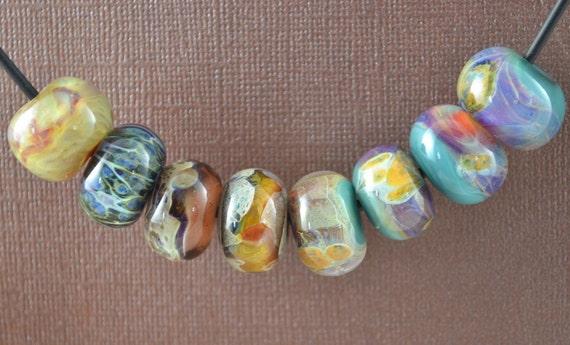 Boro Lampwork Handmade Bead Set Orphan Annies