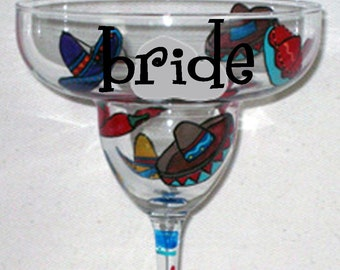Margarita Glass for Bride