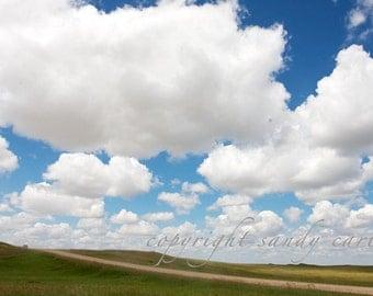 Fine Art Photograph - Prairie Clouds