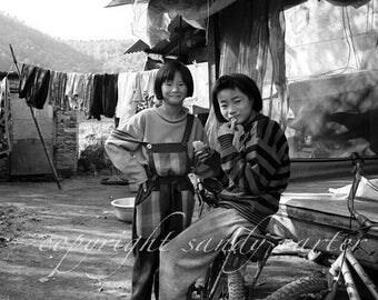 Fine Art Photograph - Korean Girls