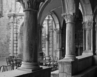 Fine Art Photograph - Columns and Chairs
