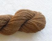 SUPER SALE - 250 yds Mill Spun Natural Alpaca Fingering Yarn - Sadie