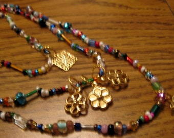 Rainbow Chains Necklace