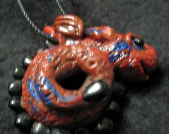 Little Bart the Dragon Pendant