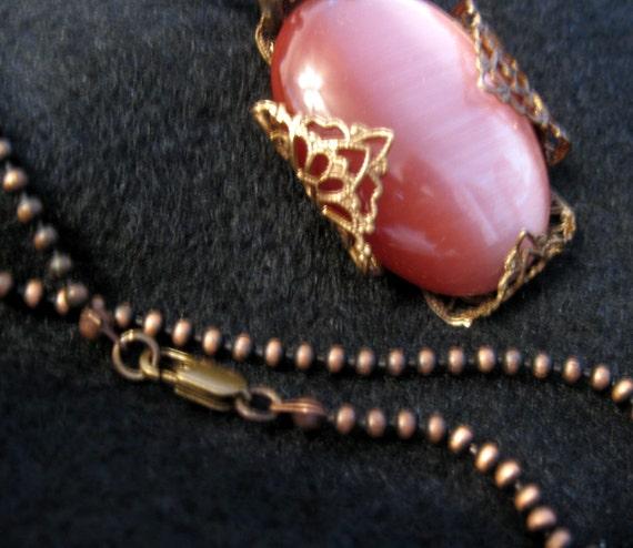 Filigree Wrapped Pendant