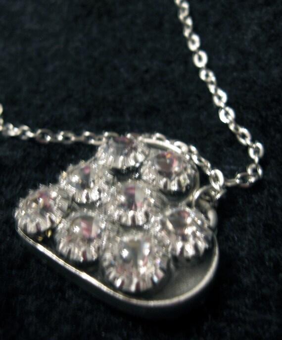 Crystal Light Heart Pendant