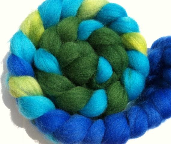 Wool Roving - PERRIER QUEEN Superwash Merino