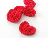 Only 4 Dollar Crochet  5 sweet hearts