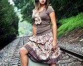Heidi Grace Fall Twirl Skirt--7-14 girls