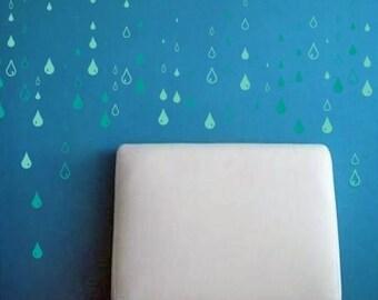 Raindrops - Value Set Wall Decal
