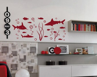 Under The Sea - Marine - Children Vinyl Wall Decals