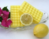 Sunshine Refreshing Lemon Massage Bar Shea Butter Soap With Pure Essential Oil