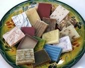 Fabulous Handmade 10 Shea Butter Soap Sampler Perfect Gift or Treat