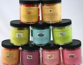 Choice of Three Solid Sugar Scrubs Plus FREE Lip Balm Many Scents to Choose From