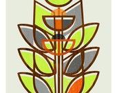 Modern Topiary - 10 x 13