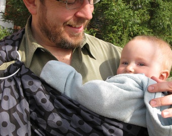 The Man in Black- Adjustable Baby Sling