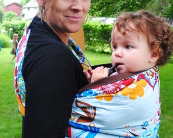 Summer Song- Adjustable Baby Sling