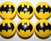 ONE Batman Knob, Dresser Knob, Drawer Knob or Cabinet Knob-FREE Gift Wrap
