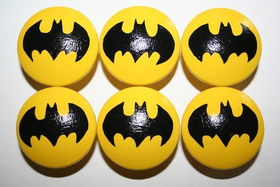 Reserve listing for Tamara Ashley- 6 Batman knobs