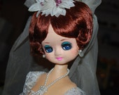 Vintage Bride Doll