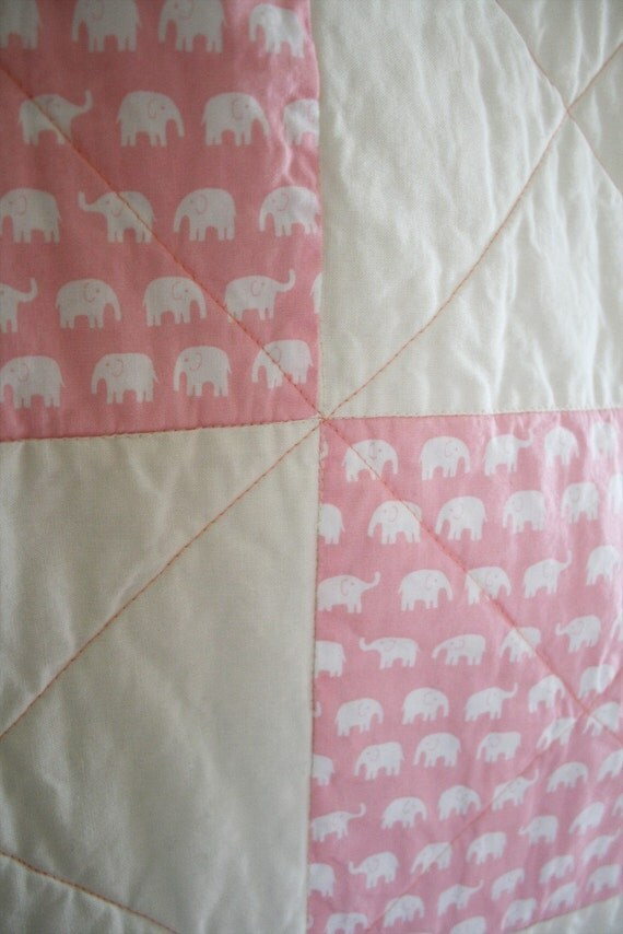 Crib to Toddler Quilt with Organic Cotton Batting