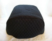 Black Deep Fryer Cover *No Trim Custom Order