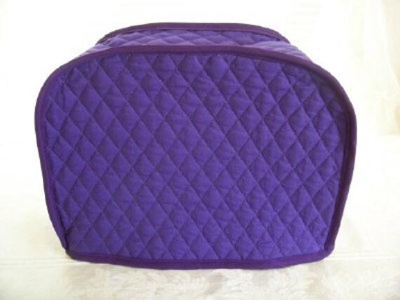 purple reversible 2 slice toaster cover. Black Bedroom Furniture Sets. Home Design Ideas