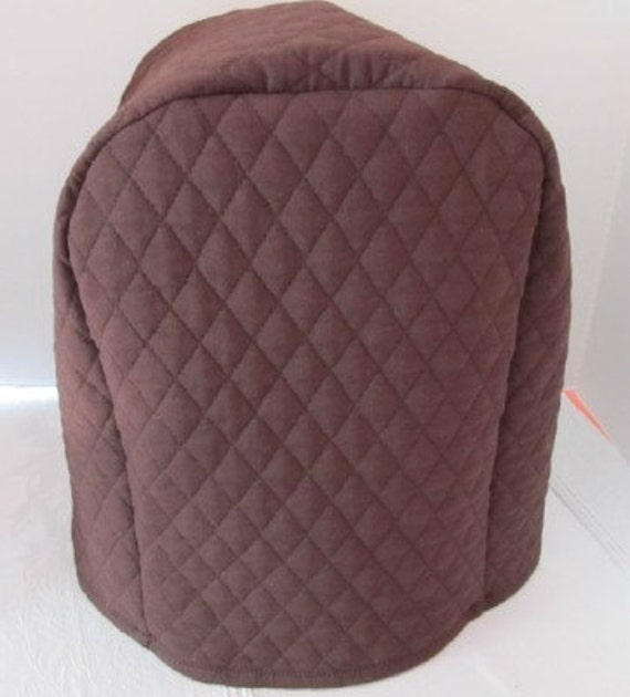 Brown Coffee Maker Cover for T. Leeder