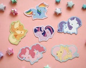 My Little Pony: Friendship is Magic magnets (set of 6)