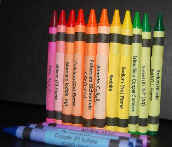 Periodic Table Crayons