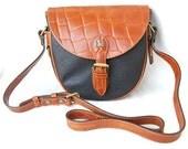 Vintage Croc Brown Leather Sling SALE