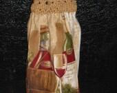 Wine Glasses Kitchen Towel