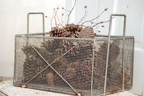 ReScUeD Wire Mesh Farm Basket....