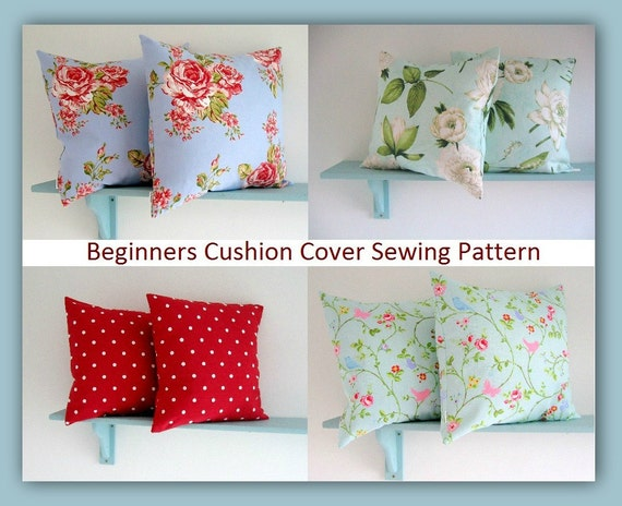 & PDF Sewing Pattern Simple Envelope Style Cushion Cover pillowsntoast.com