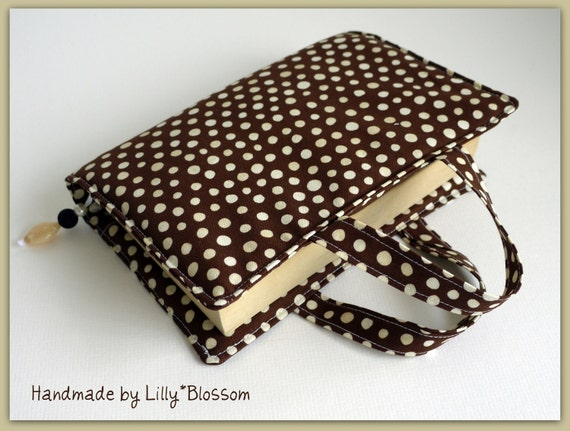 PDF Sewing Pattern Book Bag or Bible Cover with Beaded Bookmark