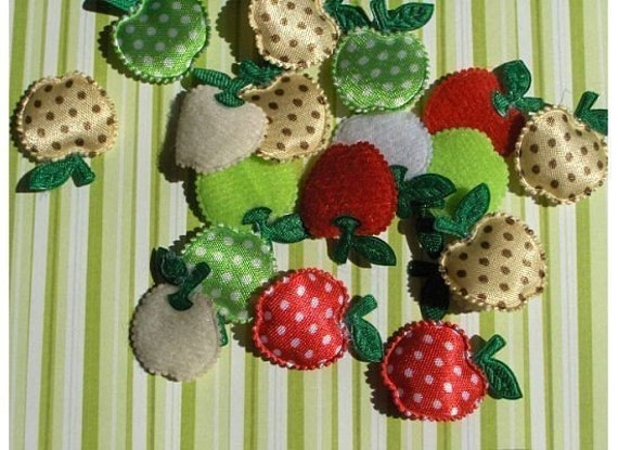 Polka dot apples - 8 pc.