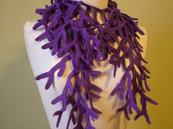 French Lavender Branches Scarf/Neckwarmer