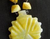 Cut Stone Necklace