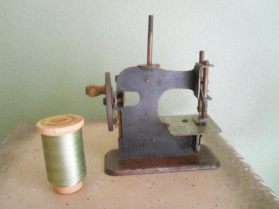 19th Century Childs Sewing Machine