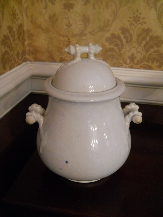 Ironstone covered dish by Cockstone and Seddon