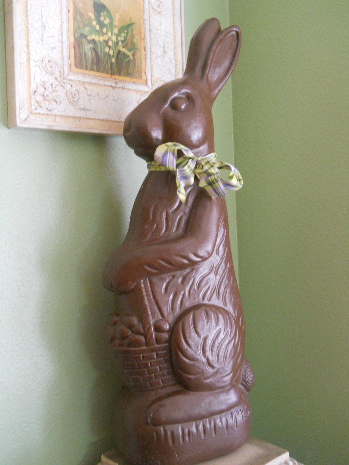 Easter Bunny Blow Mold by Don Featherstone