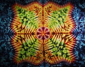 Tie Dye Tapestry 58x43 inches