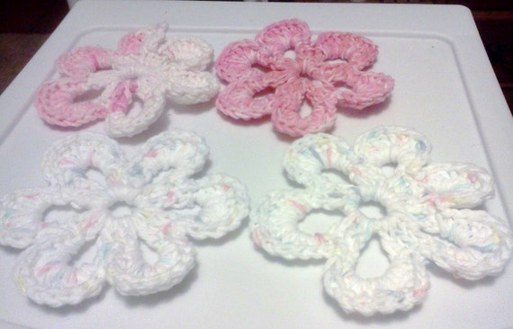 More Funky Flowers....... Embellishments