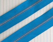 Sea Blue Zipper Trim by the Yard