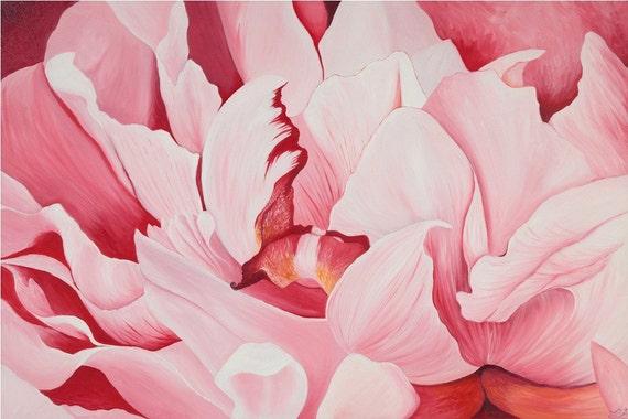 Pink Peony  Open Edition Print