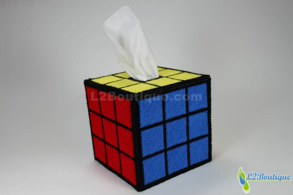 Rubik 39 S Cube Tissue Box Cover As Seen On The Big Bang